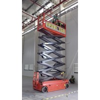 Scissor Lift  Electric Aerial Work Platform JCPT 0818681372 1