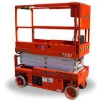 Jual Scissor Lift  Electric Aerial Work Platform JCPT 0818681372 2