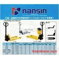 Hand Pallet Truck Merk NANSIN 1