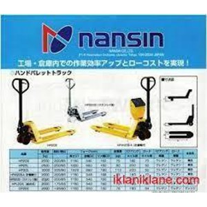 HAND PALLET  Truck  Merk NANSIN 0818681372