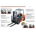 Forklift Elektrik merk Noblift 2