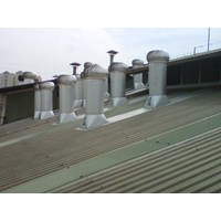Jual Turbine Ventilator alat sirkulasi udara merkDenko