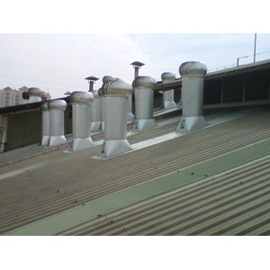 Turbine Ventilator alat sirkulasi udara merkDenko