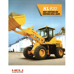 Wheel Loader Merk Heli