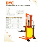 Hand Stacker Semi Electric DYC 10-20 1