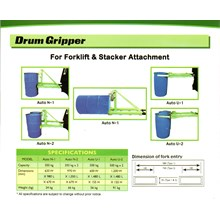 Drum Gripper For Forklift
