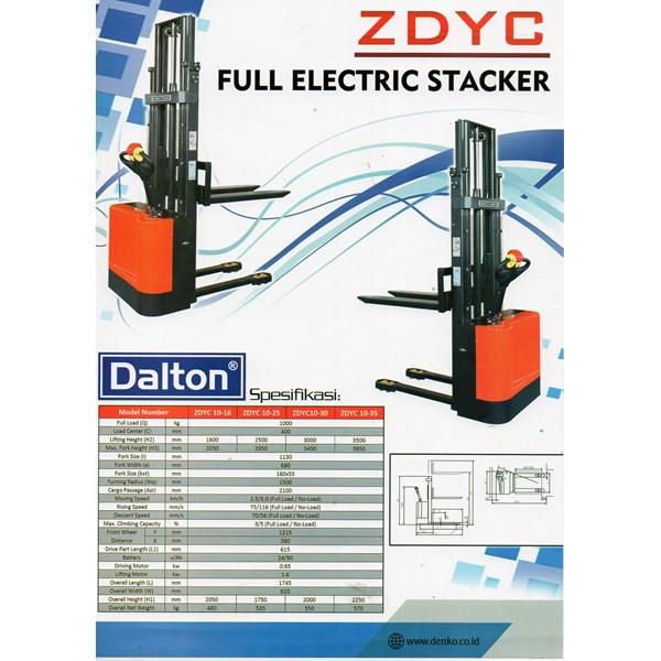 Jual Stacker Fuul Electric Merk Dalton