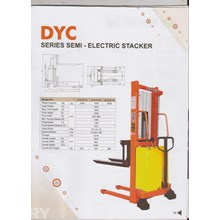 Promo Super Hand Stacker DYC semi Electric DYC 153