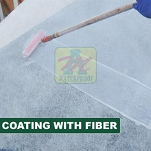 COATING WITH FIBER