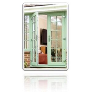 pintu upvc swing