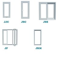 Daftar jendela upvc berbagai type pabrikasi di surabaya