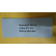 Heat Shrink Tube Warna Abu-Abu Diameter 50mm Tegangan Rendah