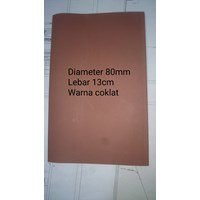 Heat Shrink Tube Warna Coklat Diameter 80mm Tegangan Rendah