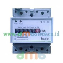 Kwh Meter Listrik Digital 1 Phase 5(100) A St Tipe D1m-211 Swaden