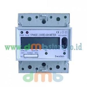 Kwh Meter Listrik Digital 1 Phase 5(100) A St Tipe D1m-315 Swaden