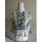 Batik Motif Cirebonan - W53622 Bolero - Hijau 1