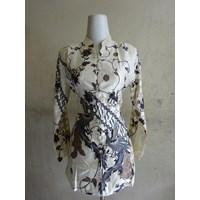 Batik Motif Bunga - W4554