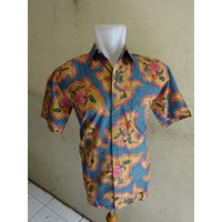Kemeja Batik Amoeba - P53109