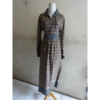 Jual Batik Wanita Jojo Handsome - Dress W5308