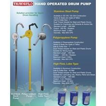 Rotary Drum Pump Stainless Transflo Food Grade