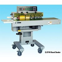 Mesin Segel Band Sealer Dengan Stainless Steel Belt Band