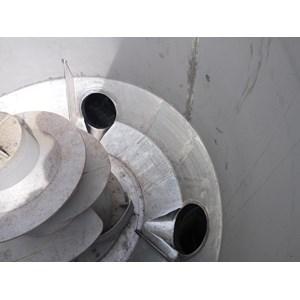 Modif Tangki Stainless Pengolah Pulp By Hutama Sinergi Karya