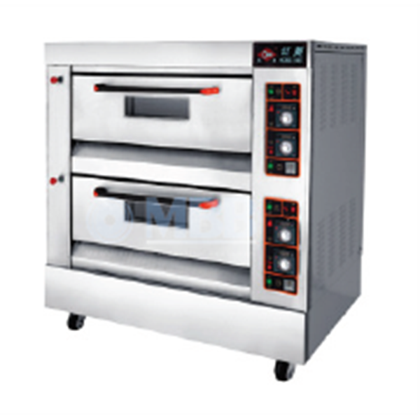 Mesin Toaster Oven Gas Pizza Deck Oven