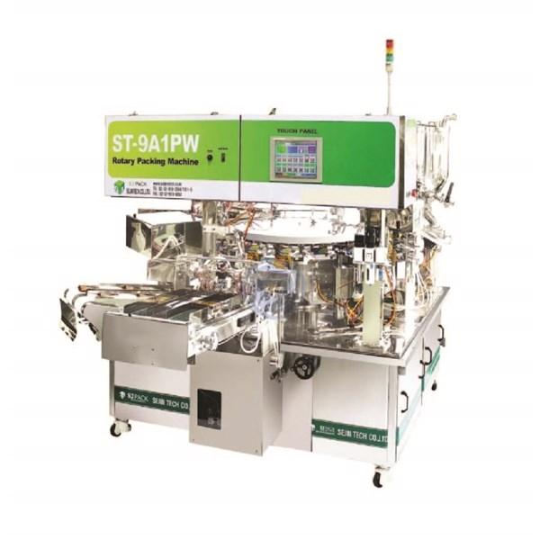 Mesin Pengisian dan Pengemasan Rotary Otomatis Untuk Liquid Product