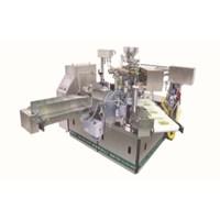 Mesin Pengisian dan Pengemasan Otomatis Untuk Produk Non Liquid Pack Besar