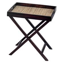 Mendekor - Adonara Emas (Restaurant Standing Wooden Tray Kerajinan Kayu Lidi)