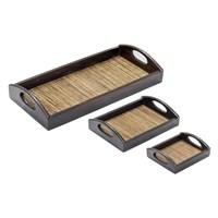 Jual Mendekor - Medang (Restaurant Hotel Wooden Tray Kerajinan Kayu Anyaman)