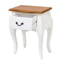 Jual Mendekor - Obi ( Meja Samping Side Table Laci Telepon Kayu Modern Furniture Unik )
