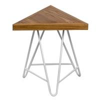Mendekor - Bonggo ( Bangku Kayu Jati Desain Skandinavia Industrial Unik Interior ) 1