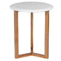 Jual Mendekor - Kaimana ( Meja Kayu Jati Desain Skandinavia Unik Interior Rumah Kafe ) 2