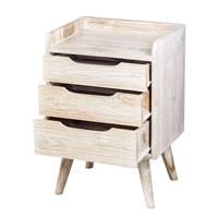Mendekor - Muria ( Furniture Meja Laci Kayu Jati Desain Skandinavia Rumah Kafe ) 1