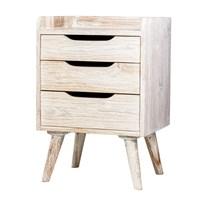 Distributor Mendekor - Muria ( Furniture Meja Laci Kayu Jati Desain Skandinavia Rumah Kafe ) 3