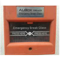 Dari Emergency Break Glass Albox EBG-87R 0