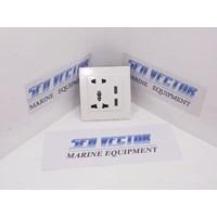 STOP KONTAK DENGAN USB 5V 2A 1