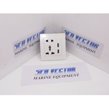 STOP CONTACT WITH USB 5V 2A