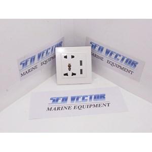 Dari STOP KONTAK DENGAN USB 5V 2A 0