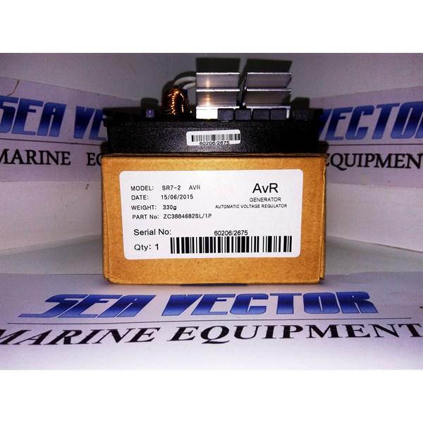 Speed Control Genset AVR MECC ALTE SR7-2G