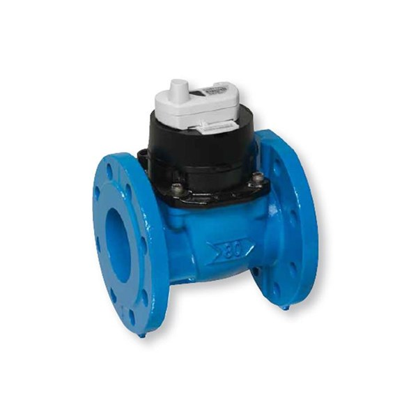 water Flow meter itron type woltex  cast iron PN 10 Dn 100