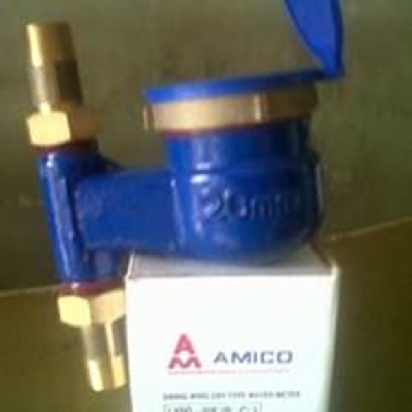 AMICO Water Meter Vertical one inch