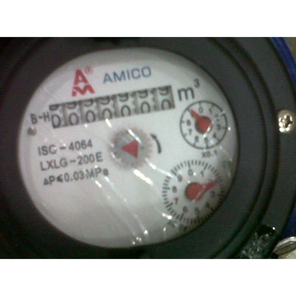 water flow meter Amico LXLG-80E