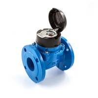 water meter itron 4 inch DN100 type woltex