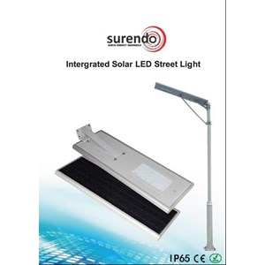 Lampu Solar Cell All In One 30W
