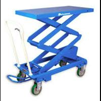 Bishamon Mobilift Double Scissor Lift Table Capacity 1100