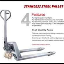 Stainless Steel Pallet Truck