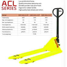 Hand Pallet ACL Series