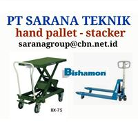 Hand Pallet Stacker Bishamon
